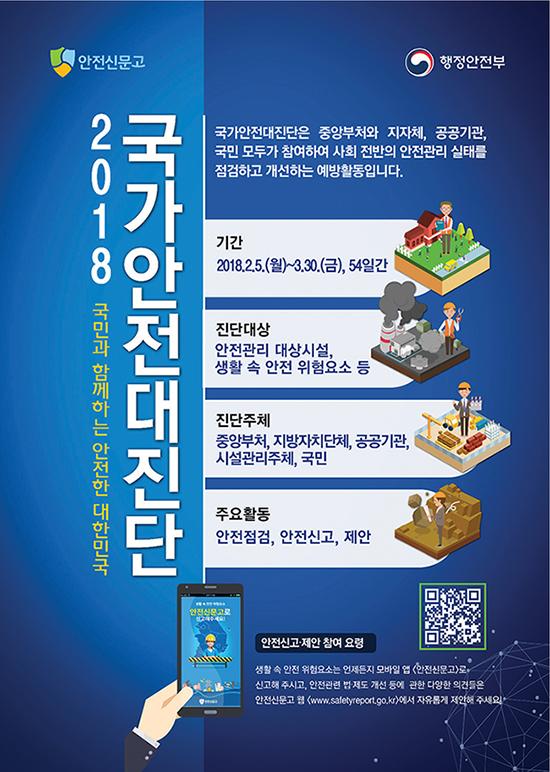 2018 국가안전대진단 안내