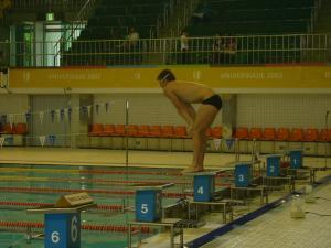 남아프리카공화국 수영선수 훈련(2008.8.5) 두번째 이미지